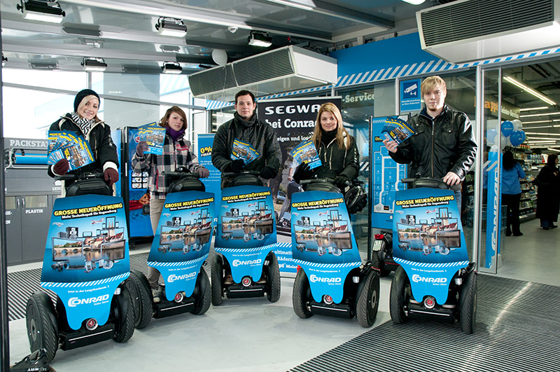 SEGWAY als Event-Highlight